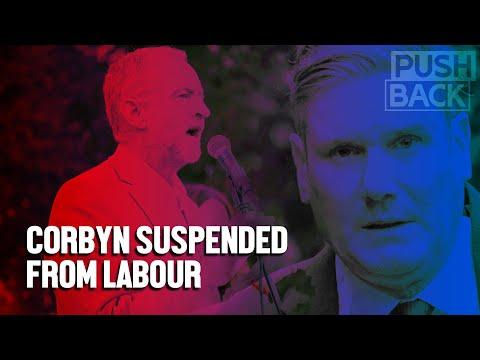 UK Labour civil war? Jeremy Corbyn suspended even as report vindicates him on anti-Semitism smears