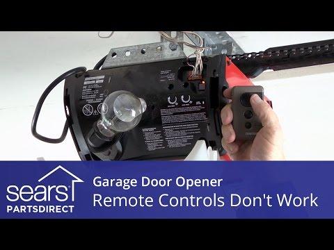 Garage Door Opener Won't Open: Opener Remotes Don't Work