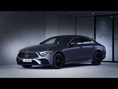Mercedes_benz Cls Class Coupe Седан класса E - рекламное видео 4