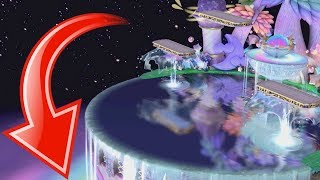 Who Can Go Under Fountain of Dreams? - Super Smash Bros Ultimate - 1080p 60fps HD