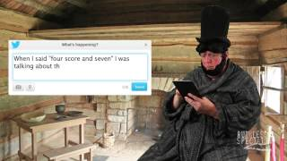 Tweets of the Rich & Famous: Abe Lincoln #3
