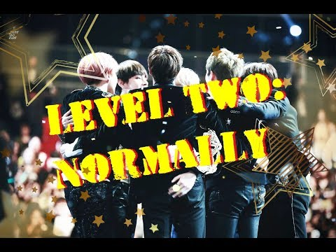 BTS  Quiz. LEVEL TWO: NORMALLY
