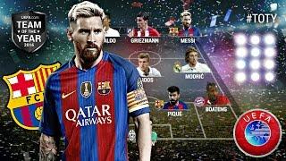 "LE 11 DES FOOTBALLEURS DE LA ""TEAM OF THE YEAR"" (TOTY 2016) !"