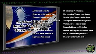 "Marshall Islands National Anthem ""Forever Marshall Islands"" INSTRUMENTAL with lyrics"