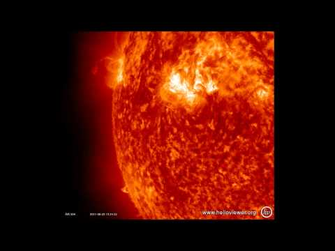 Watch As Millions Of Tons Of Gas Erupt On Sun's Surface