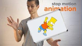 Stop Motion Animation: Как сделать мультик на маркерной доске