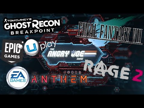 AJS News - FF7 Remake Update, EA learns NOTHING from Anthem, Ghost Recon News & Rage 2 Marketing!