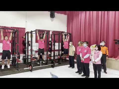 充實肌力訓練器材,肌力體能教官團成軍影片1