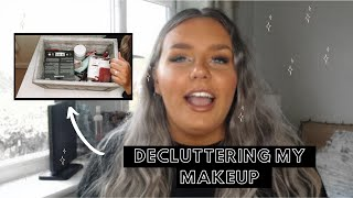 DECLUTTER & ORGANISE MY MAKEUP WITH ME 2020 / *satisfying*