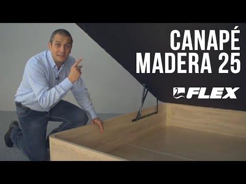 canapé Flex madera abatible 25
