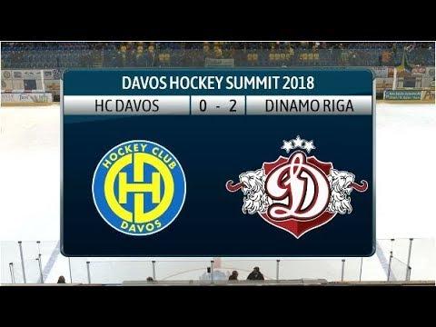 2018 Davos Hockey Summit: HC Davos - Dinamo Riga