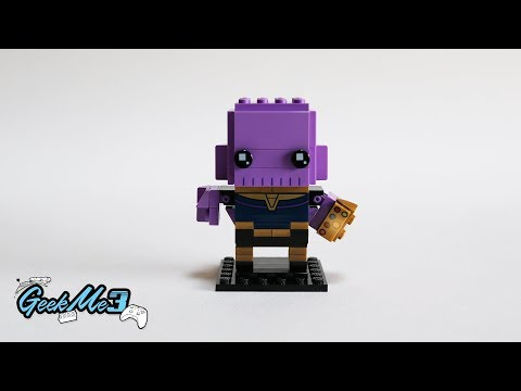 Vidéo LEGO BrickHeadz 41605 : Thanos