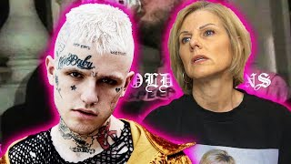 Mom REACTS To Lil Peep   4 GOLD CHAINS Ft. Clams Casino (Official Video)