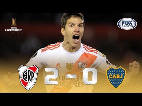 ABRIU VANTAGEM! Melhores momentos de River Plate 2 x 0 Boca Juniors pela Conmebol Libertadores