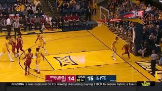 Iowa State vs West Virginia Men's Basketball Highlights