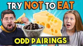 Try Not To Eat Challenge | Odd Food Pairings