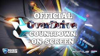 Official Rocket League OverDrive Update Countdown [On-Screen] 5 minutes left!!