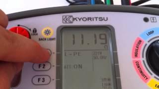Kyoritsu KEW 6016, Çok Fonksiyonlu Test Cihazı