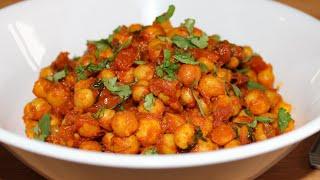Chickpea Stir fry (Vegan) | Quick & Healthy Vegan Recipe | Gluten-free & Dairy-free