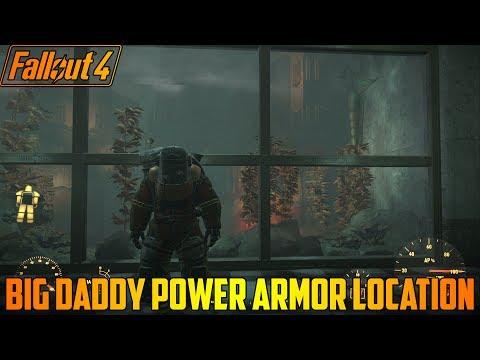 Fallout 4 Big Daddy Power Armor Location (Xbox One Mod