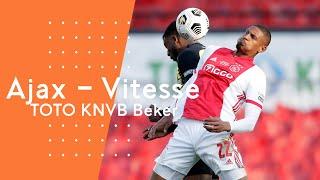 Highlights TOTO KNVB Bekerfinale: Ajax - Vitesse (18/04/2021)