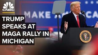 President Trump speaks at Make America Great Again rally in Michigan — 10/27/2020