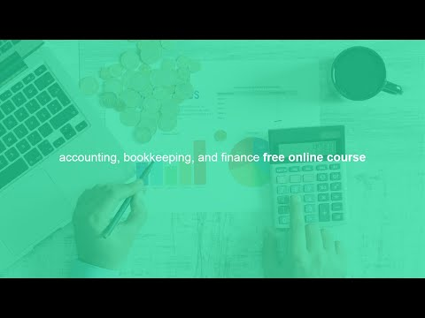 accounting, bookkeeping, and finance free online course - YouTube