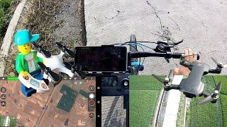 Review Firtur Mode Drone Kecil Follow Me, Orbit Flight MJX Bugs Indonesia
