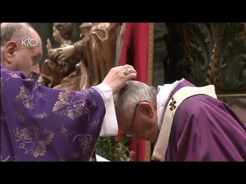 Messe des Cendres et envoi des Missionnaires de la Miséricorde