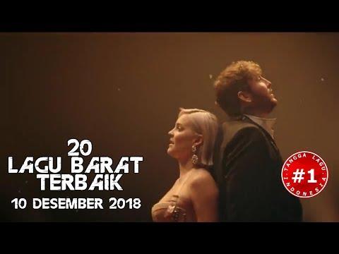 20 Lagu Barat Terbaik  (10 Desember  2018)