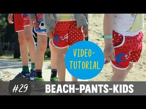 Sommer-Shorts für Kinder ganz einfach selber nähen  DIY-Näh-Tutorial