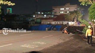 Jalan Gubeng Surabaya Ambles, Bappeko Sebut karena Ada Kesalahan Pembangunan Proyek