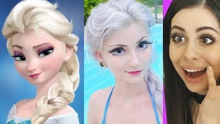 CARTOON CHARACTERS That Exist in Real Life !