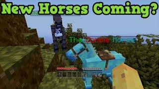 Minecraft PS3, PS4, Xbox, Wii U - HORSE MOD! Untextured