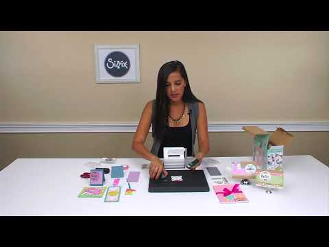 Unboxing the Sizzix Sidekick