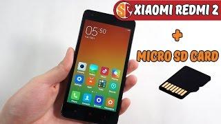 Xiaomi redmi 2 отличный смартфон за 105$. Оригинальная  Micro SD Card