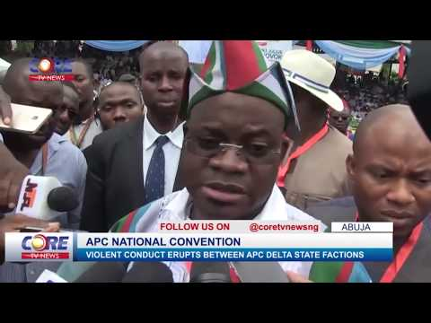 GOV. YAHAYA BELLO ON APC DELTA STATE FACTIONS...watch & share...!