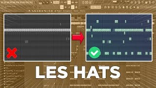 La MÉTHODE Pour CRÉER Du RYTHME Avec Ses HATS (hi-hats, Open Hats...) | Tutoriel FL Studio 20