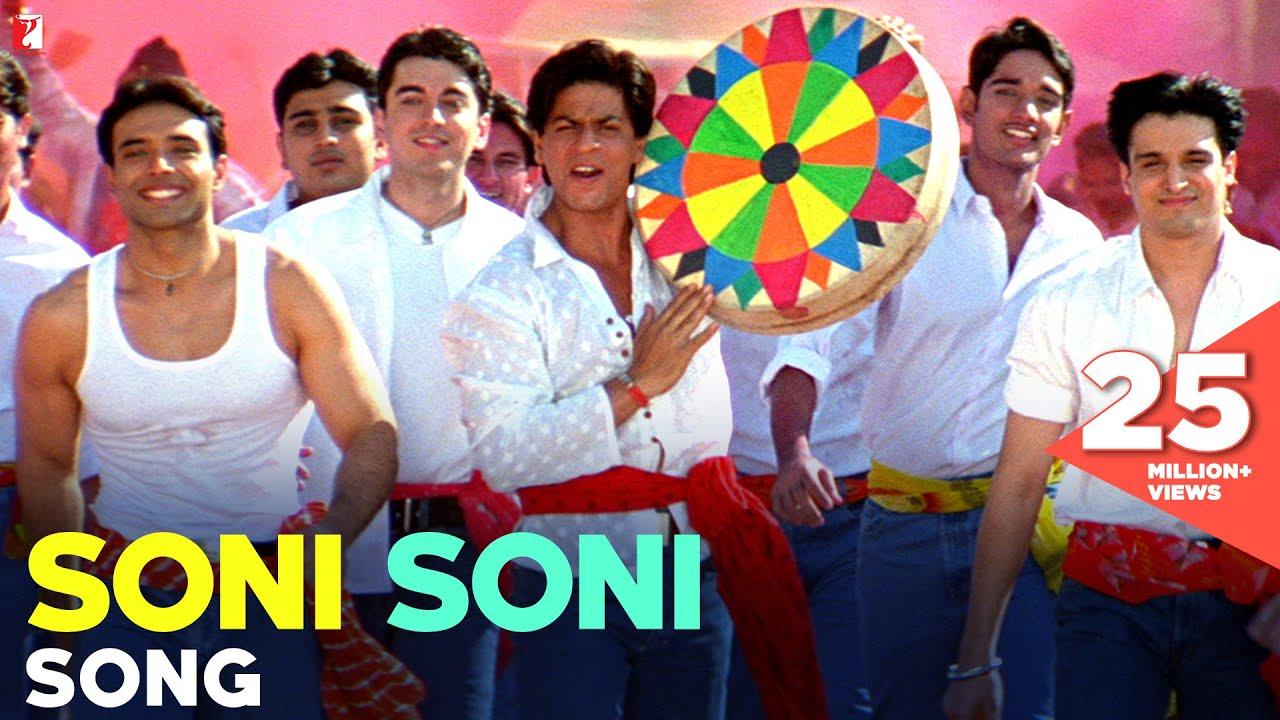 Soni Soni Song | Mohabbatein | Shah Rukh Khan | Uday Chopra | Jugal Hansraj | Jimmy Shergill - Udit Narayan, Jaspinder Narula, Udbhav, Manohar Shetty, Ishaan, Shweta Pandit, Sonali Lyrics in hindi
