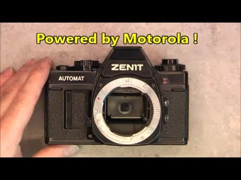Zenit Automat teardown the western electronics version