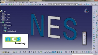 CATIA V5/V6 tutorial | Lesson 06 HOW TO ADD THICKNESS TO SURFACE DESIGN MODEL