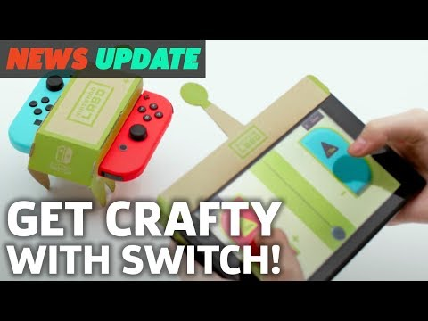 "Nintendo Labo is a Bizarre New DIY Game ""Experience"" – GS News Update"