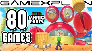 All 80 Super Mario Party Mini-Games Revealed (Gameplay Compilation) - dooclip.me