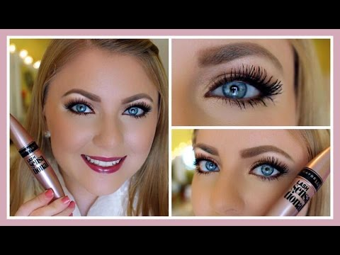 Review & Demo: Maybelline Lash Sensational Mascara