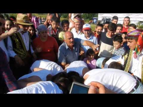 Çankırı Çerkeş Hacılar Köyü 2014 yoğurt yarışması