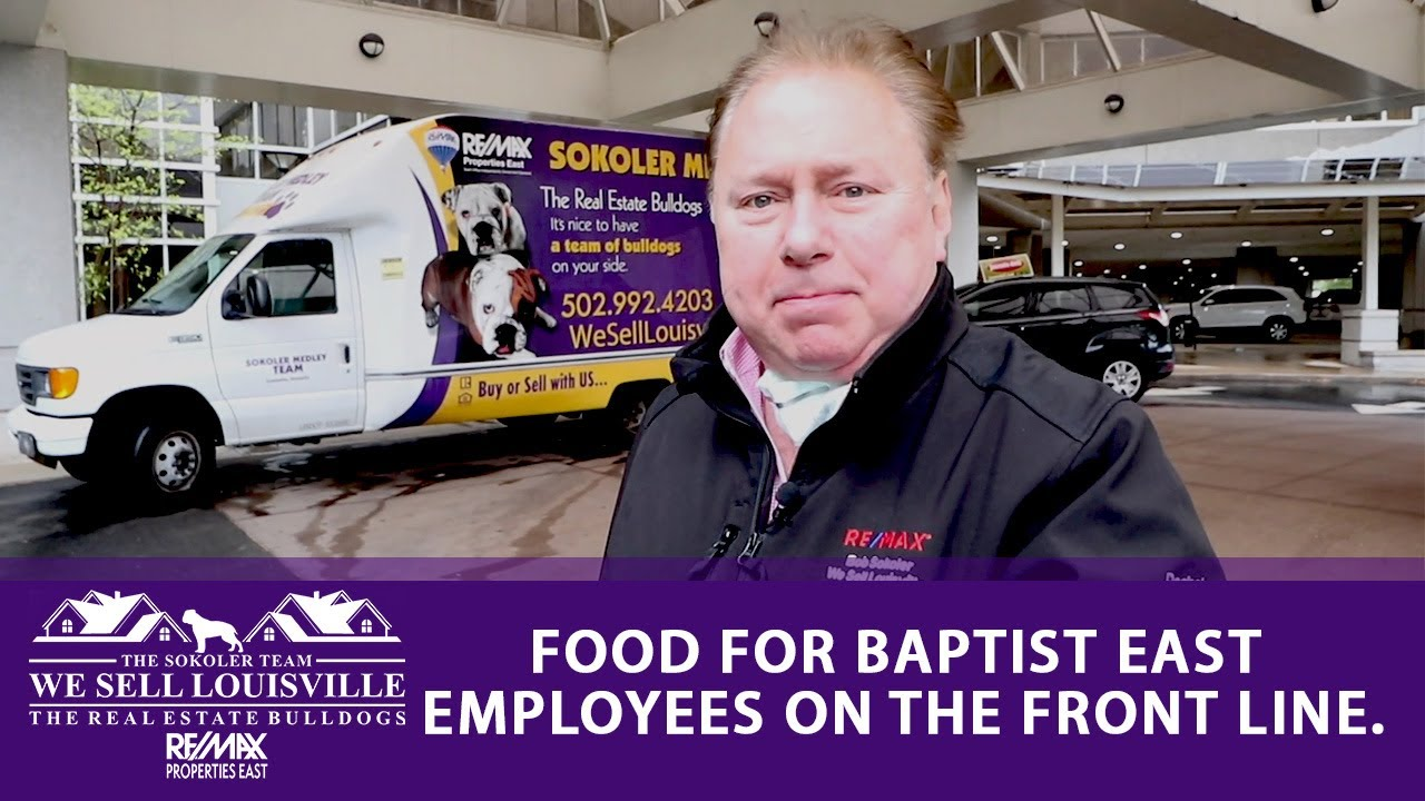 Food for Baptist East Employees on the Front Line