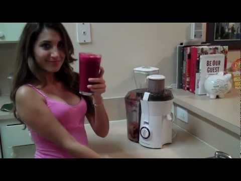 Video Juice Recipe - Beet, Orange, and Carrot Juice