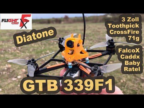 Diatone GTB 339F1 FalcoX Caddx Baby Ratel