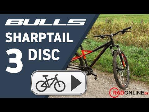BULLS Sharptail 3 Disc 27,5, 24 Gang Kettenschaltung, Herrenfahrrad, MTB, Modell 2018, 27,5 Zoll Video