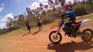 Dirtbike\Motocross vs FPV Drone